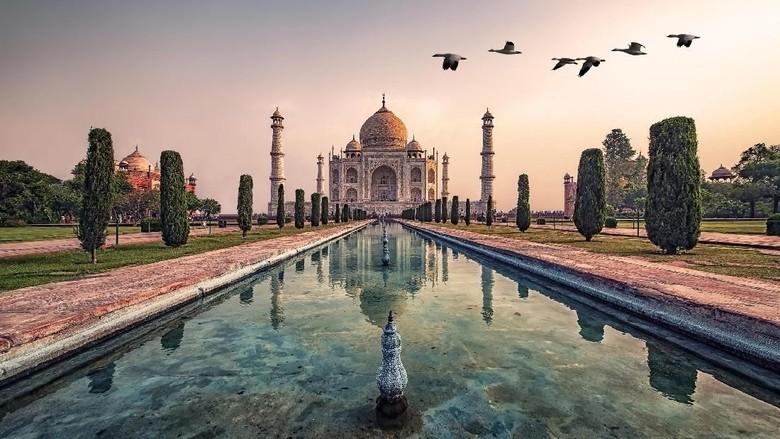 Foto: Ilustrasi Taj Mahal (iStock)