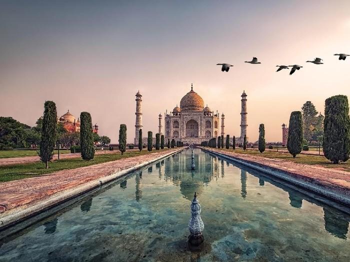 Taj Mahal di India. (Foto: iStock)