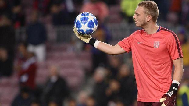 Jasper Cillessen kemungkinan akan dilepas Barcelona. (