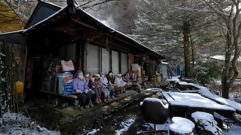 Desa Nagoro di Jepang  (AFP/Kazuhiro Nogi)