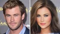 Banyak yang memuji ketampanan dan kecantikan Thor (Chris Hemsworth).Dok. Bored Panda