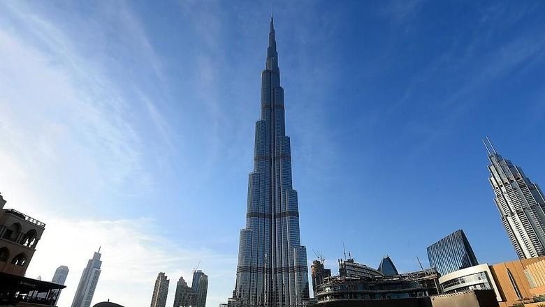 Megahnya Burj Khalifa di Dubai (Getty Images)
