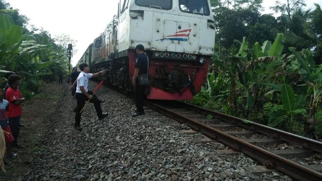 KA Mutiara Selatan Mogok Hampir 4 Jam di Manonjaya Tasikmalaya
