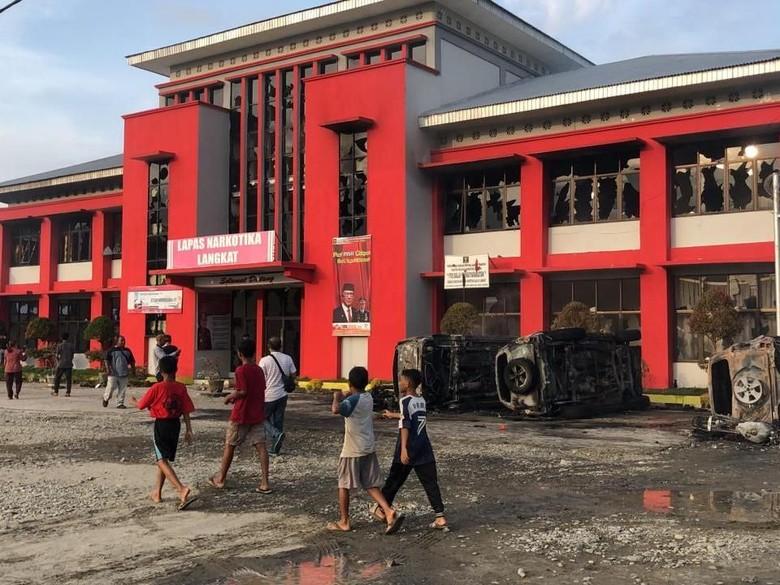 Pascarusuh Lapas Langkat, Penjagaan di Perbatasan Aceh-Sumut Diperketat