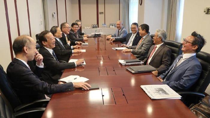Menteri ESDM dan Kepala SKK Migas bahas finalisasi blok Masela/Foto: Dok. Kementerian ESDM