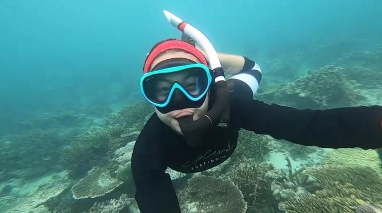 Host MTMA, Inka yang freediving di Kepulauan Aru (dok MTMA)