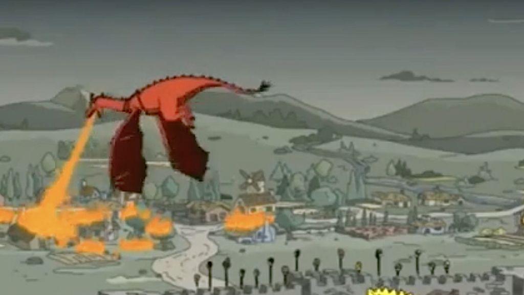 Game of Thrones Masuk, Ini Ramalan The Simpson Paling Heboh