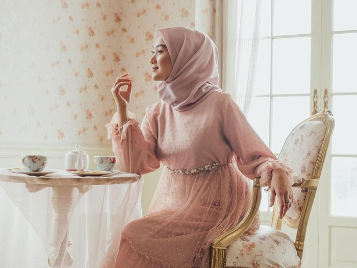 Baju Lebaran Hijabchic X Indan Nada. Foto: Instagram/Hijabchic