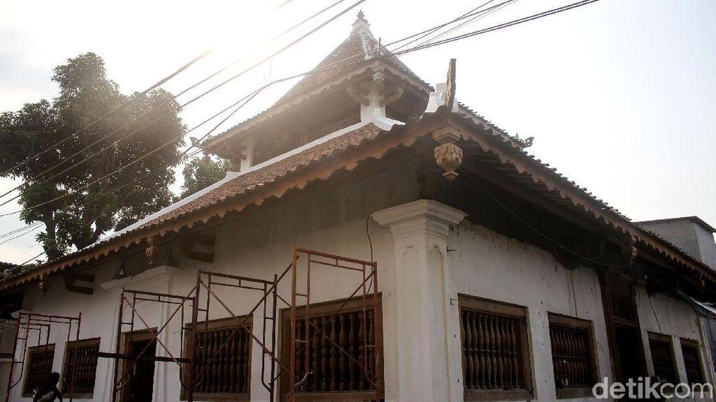 Menengok Masjid Al Anwar Angke yang Tengah Direstorasi