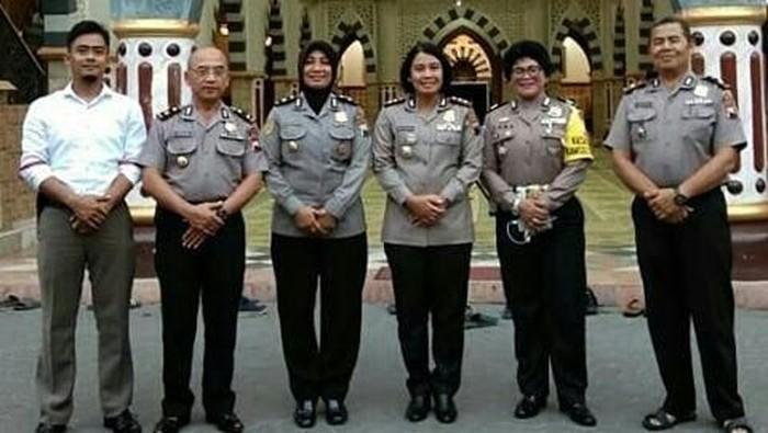 AKP Aditia Mulya (paling kiri). Foto: Dok Polres Wonogiri