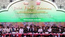 Jokowi Buka Puasa Bersama TNI-Polri