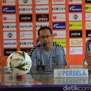 Jelang Arema FC Vs Persela, Aji Santoso: Tekanan Ada di Singo Edan
