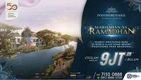 Sukses Tahap I, Podomoro Park Tawarkan Rumah Hanya Rp 9 Jutaan/Bulan