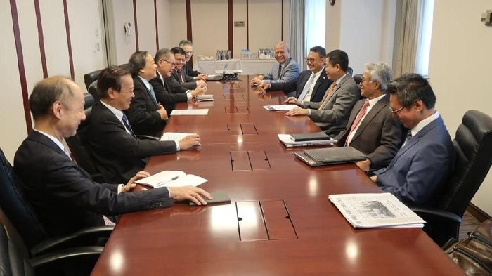 Menteri ESDM Ignasius Jonan di Jepang saat bahas finalisasi blok Masela. Foto: Dok. Kementerian ESDM