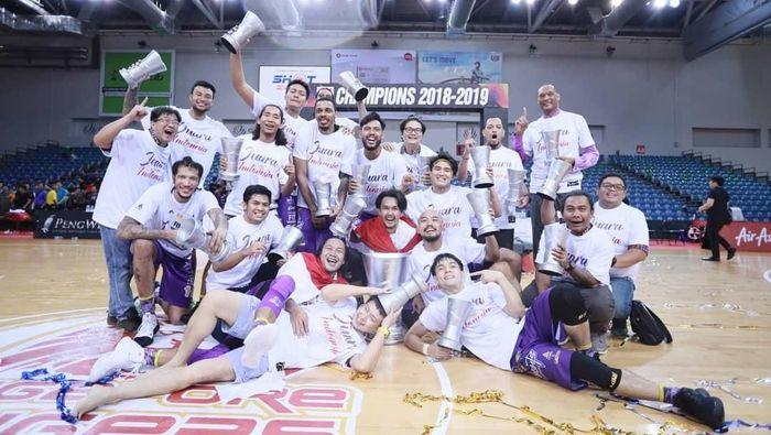 CLS Knights Indonesia juara ABL 2018/19. (Foto: ist.)