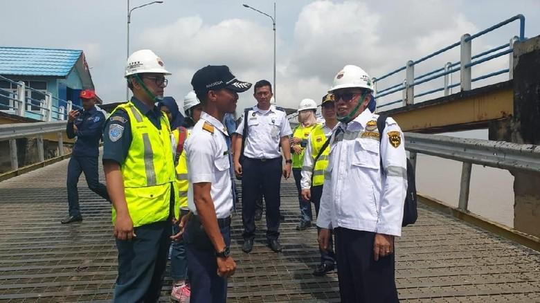 Jelang Mudik, Kemenhub Sidak Kelaikan Kapal di Tanjung Api-api