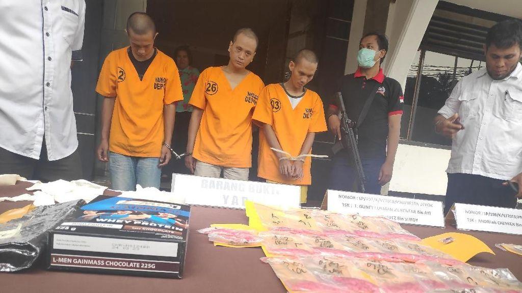 Petugas Gagalkan Penyelundupan Narkoba Jenis Baru ke Dalam Lapas