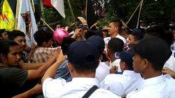 Demo Tuntut Penuntasan Kasus Randy-Yusuf di Kendari Berujung Bentrok