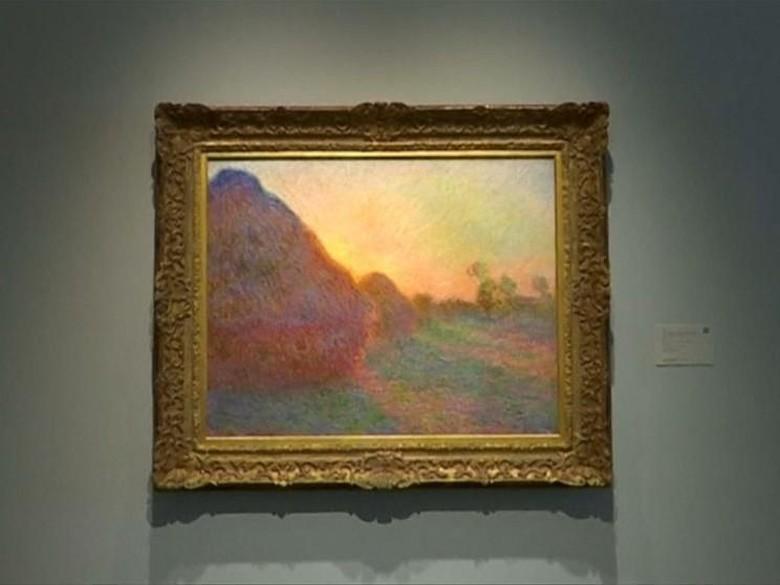 Rekor! Lukisan Monet Meules Terjual Rp 1,5 T dalam 8 Menit Foto: Istimewa