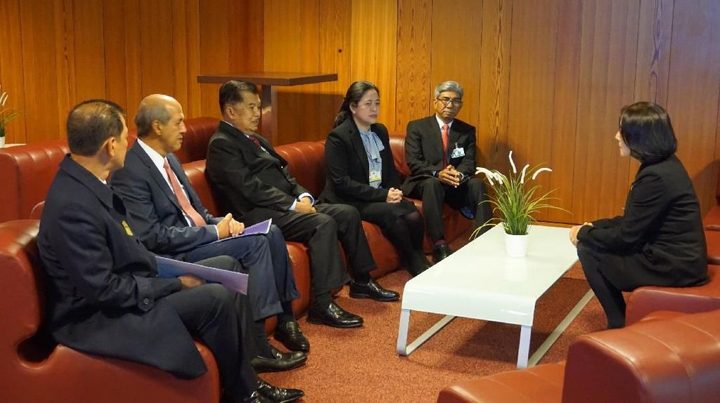 Wapres JK Hadiri Forum Pengurangan Risiko Bencana