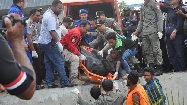 Kapal Terbakar di Pelabuhan Merauke: 2 ABK Tewas, Nakhoda Hilang