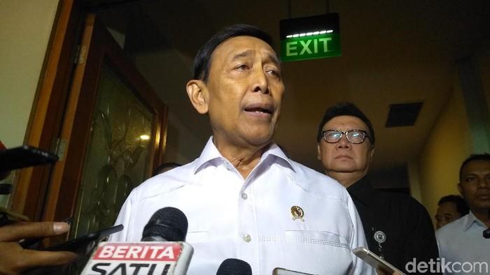 Foto: Wiranto (Azizah/detikcom)