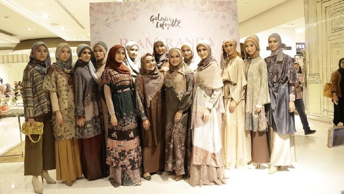 Galeries Lafayette Gaet Ria Miranda Hadirkan Busana Eksklusif Diwani . Foto: Istimewa