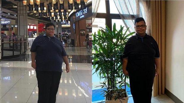 Transformasi pria yang turunkan bobot 40 kg berkat dance K-Pop