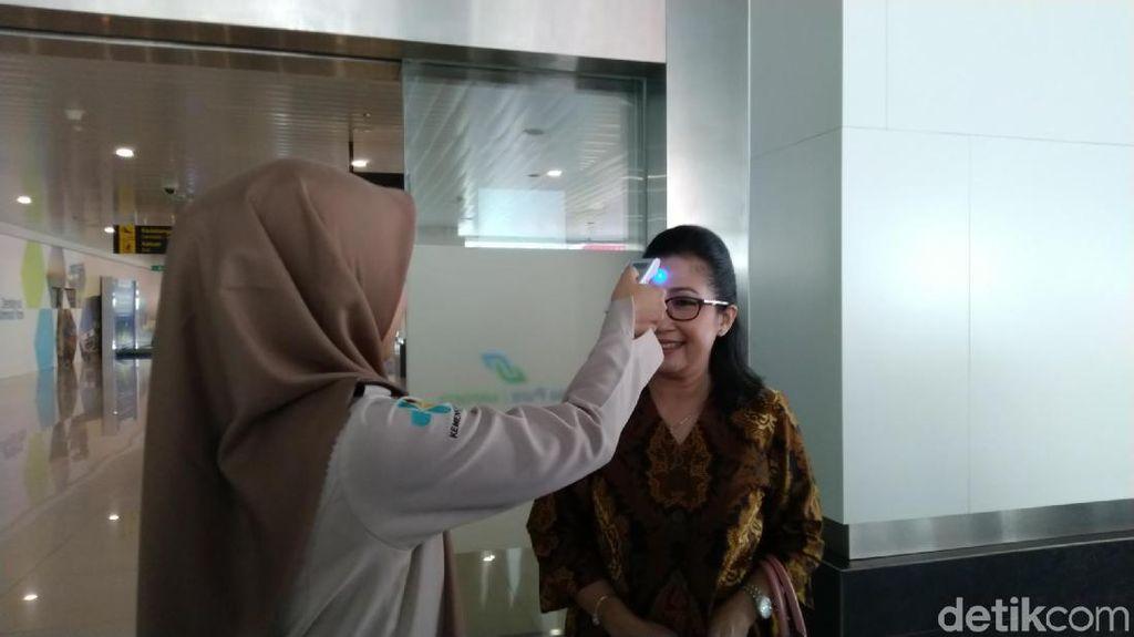 Cegah Cacar Monyet, Suhu Badan Penumpang dari Singapura Dicek di Semarang