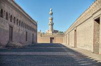 Masjid Ibn Tulun di Kairo, Mesir.