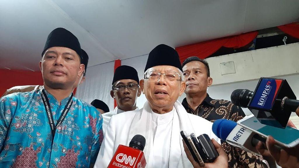 Sama dengan Zulkifli Hasan, Maruf Harap Jokowi-Prabowo Bertemu