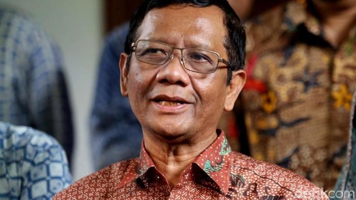 Menko Polhukam Mahfud Md (Agung Pambudhy/detikcom)