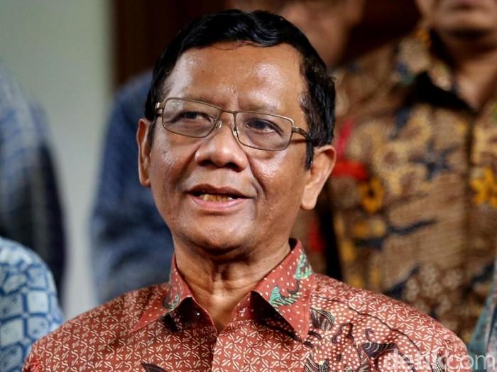 Menko Polhukam Mahfud Md. (Foto: Agung Pambudhy)