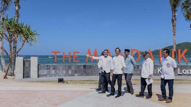 Presiden Jokowi yakin Indonesia bisa gelar F1 dan MotoGP.