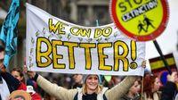 Demo perubahan iklim (BBC)