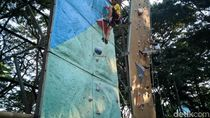Semangat Atlet Panjat Dinding Ponorogo yang Tetap Latihan Meski Puasa