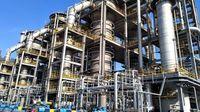 Pabrik biofuel LanzaTech di China (BBC)