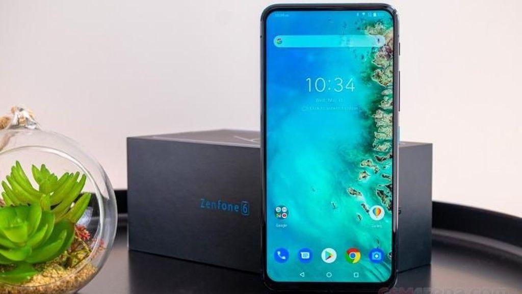 Penampakan Zenfone 6, Ponsel Anyar Asus Harga Rp  8 Jutaan