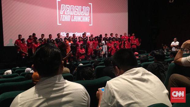 Persija Jakarta resmi kenalkan skuat di Liga 1 2019.