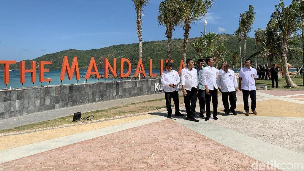 Jokowi Pastikan Sirkuit MotoGP Mandalika Selesai 2020