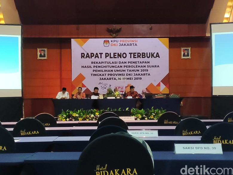 Rekapitulasi Pileg DPR di DKI Selesai, 6 Parpol Tolak Tanda Tangan