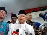 Maruf Amin soal Aksi 22 Mei: Dugaan Kecurangan Mestinya ke Bawaslu-MK