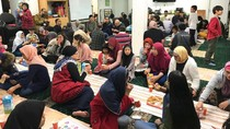 Buka Puasa Indonesia Kecil di Uttrecht, Belanda