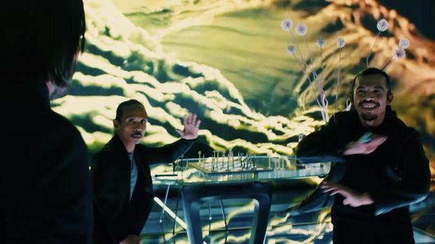Cecep Arief Rahman dan Yayan Ruhian dalam 'John Wick 3.'