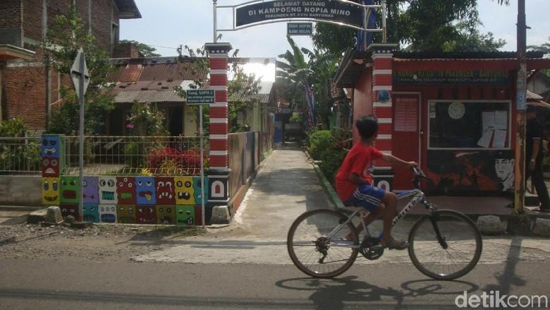 Kampung Nopia Mino di Banyumas (Arbi/detikcom)