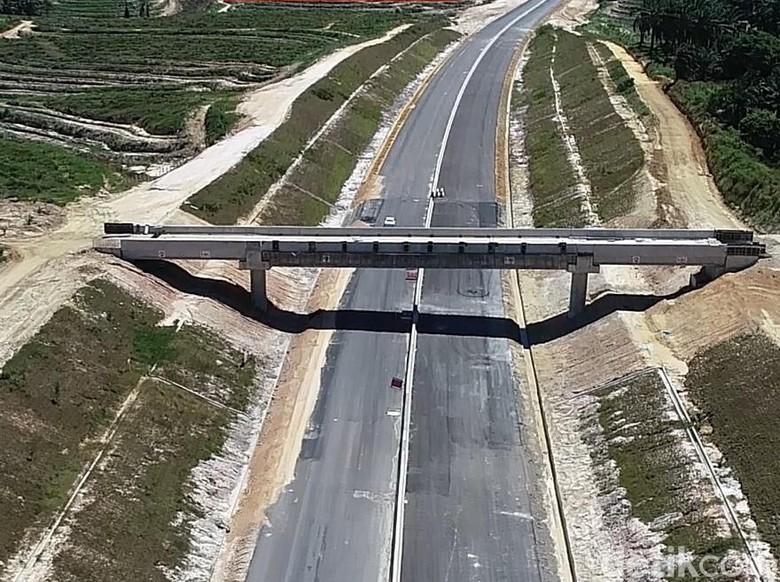 Begini Penampakan Jalan Tol Pekanbaru-Dumai Sepanjang 131 Km