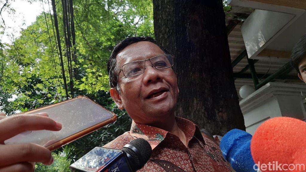 Mahfud Md dan Gerakan Suluh Kebangsaan Temui Megawati, Bahas Rekonsiliasi