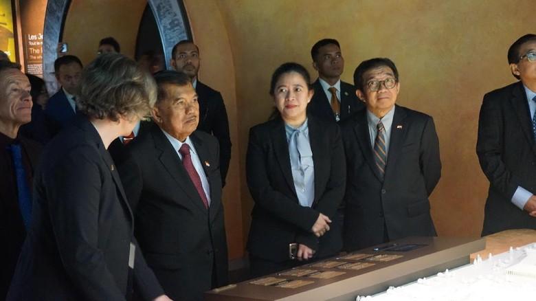 Wapres JK Kunjungi Kantor UNHCR dan Museum Olimpiade