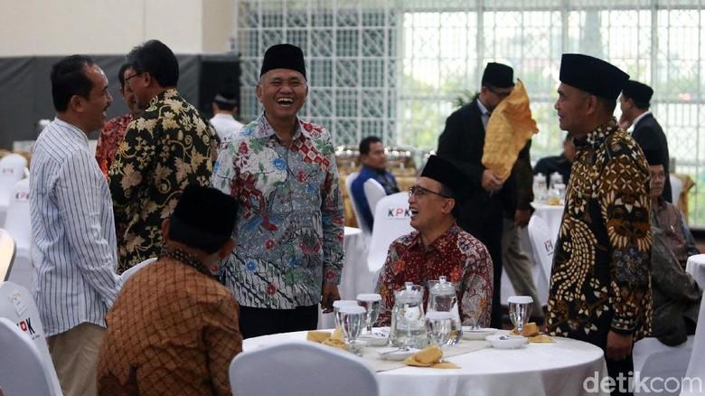 Buka Puasa Bersama, Ketua KPK Unjuk Kinerja 2018