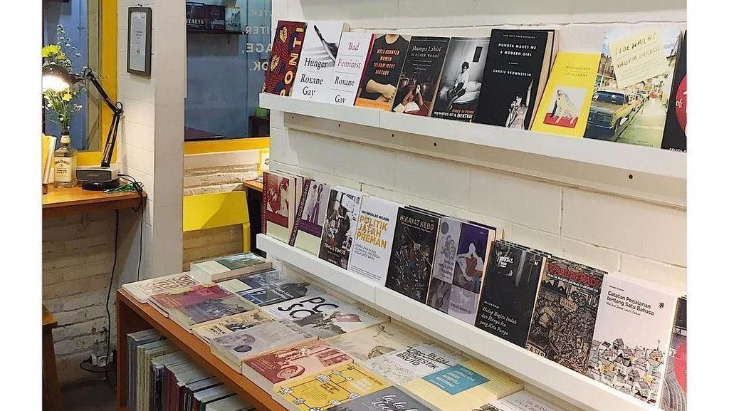 Jakarta Butuh Lebih Banyak Toko Buku Indie Lagi